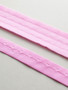 Plush back Pink Hook and Eye Tape