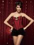 Red Carpet Burlesque Outerwear Corset Set