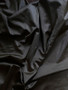 Black antistatic tricot fabric