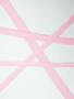 Pink facing elastic