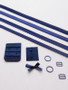 Navy Blue Add Kit bra findings to make your own bras