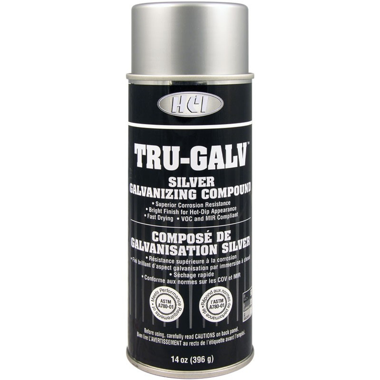 78-65017 TRU GALV Silver Galvanize Paint 14 OZ Can