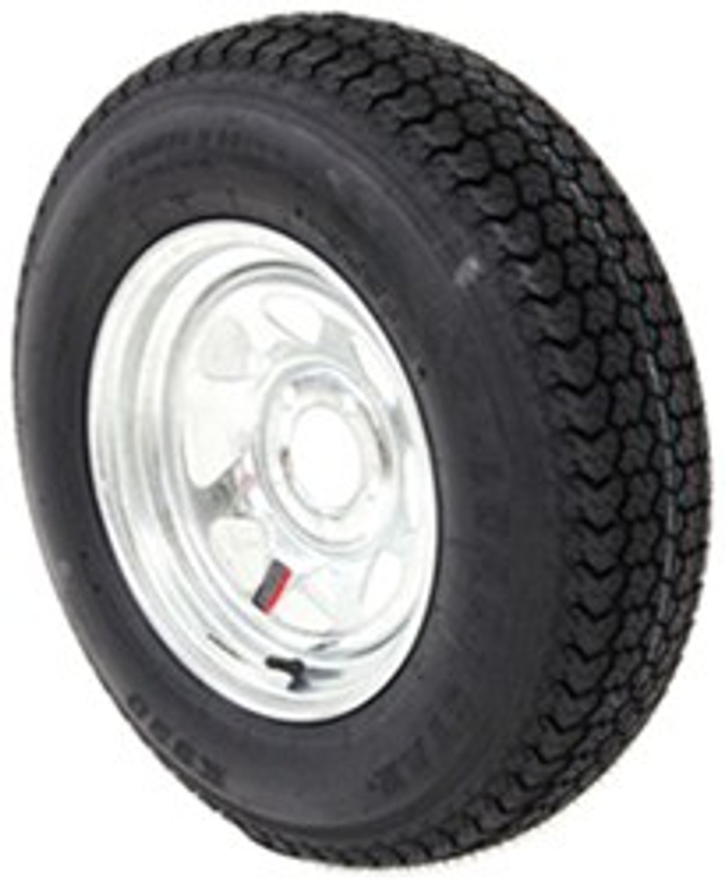 Loadstar Bias (8) Ply Tire ST205/75D15 Galvanzied Wheel 5 on 4-1/2 Load D 2150lb