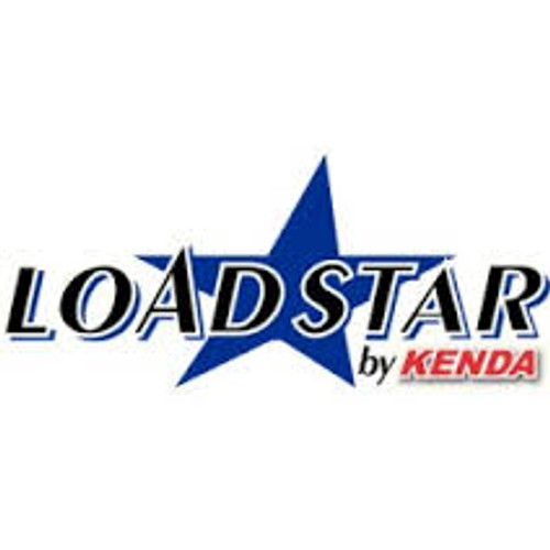Loadstar Tire 4.80-12 White Rim 5 on 4-1/2 Load B 785lb