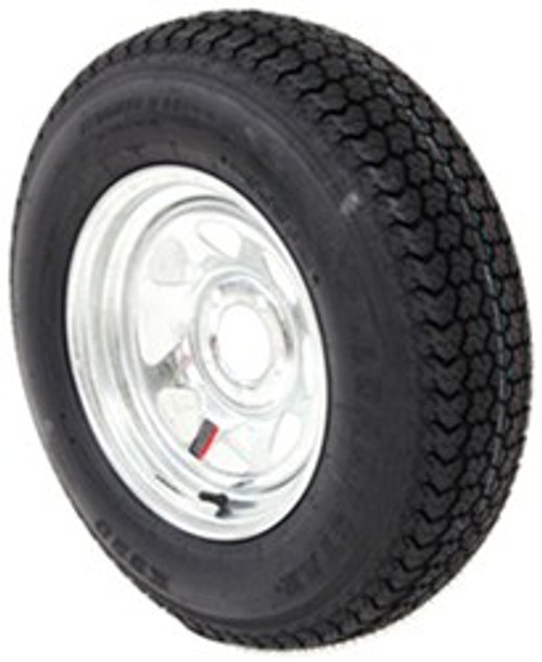 Loadstar Bias (8) Ply Tire ST205/75D15 Galvanzied Wheel 5 on 4-1/2 Load D 2150lb
