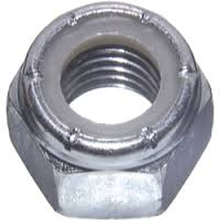 "66-NT38NLS Stainless Steel Nylon Lock Nut 3/8"""