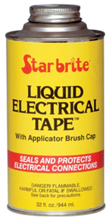 7-84154 STAR-BRITE Liquid Black Electrical Tape 1 OZ Can