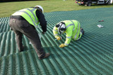How to install Grass Reinforcement Mesh