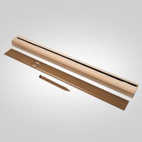 Rite-Edge Lawn Edging Aluminium Brown