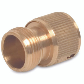 Quick Connection Brass Male Click On Adaptor