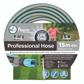 Flopro Professional Hose Pipe 15m