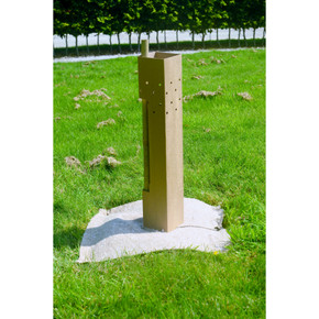 60cm Greenguard Tree Shelter Guard and Support Cane Planting Package