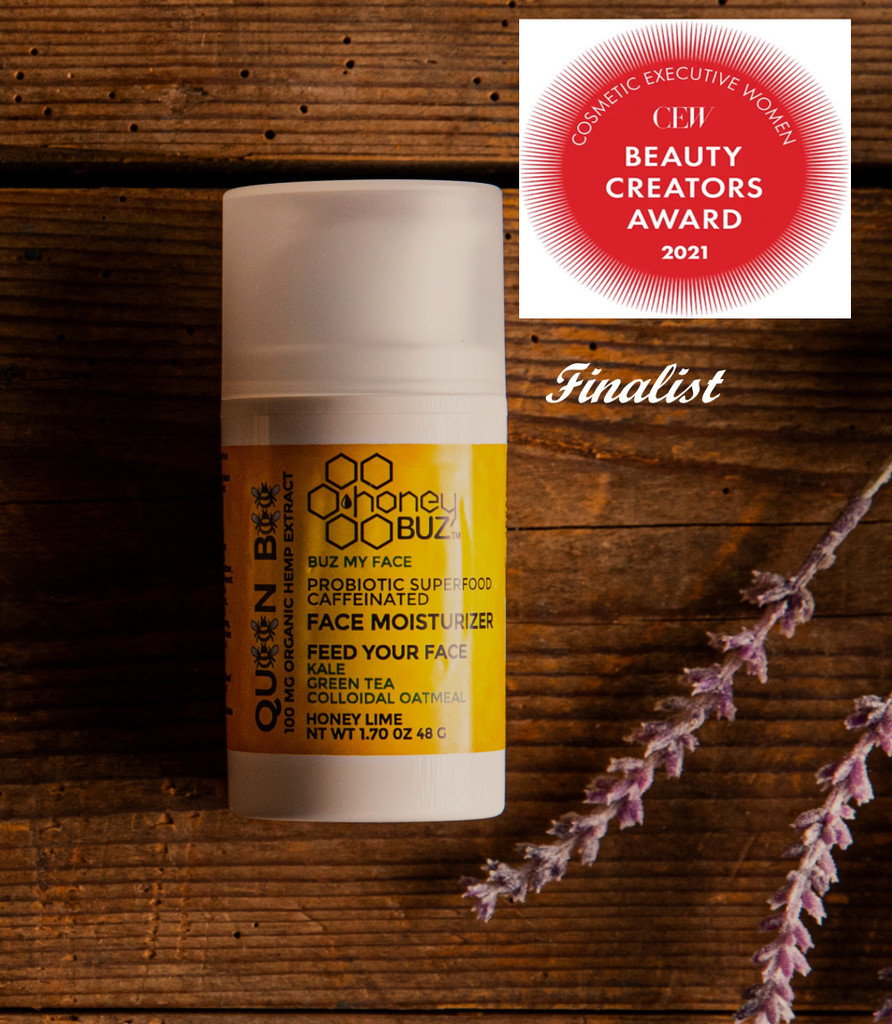 Queen Bee is a finalist in the CEW beauty creator awards