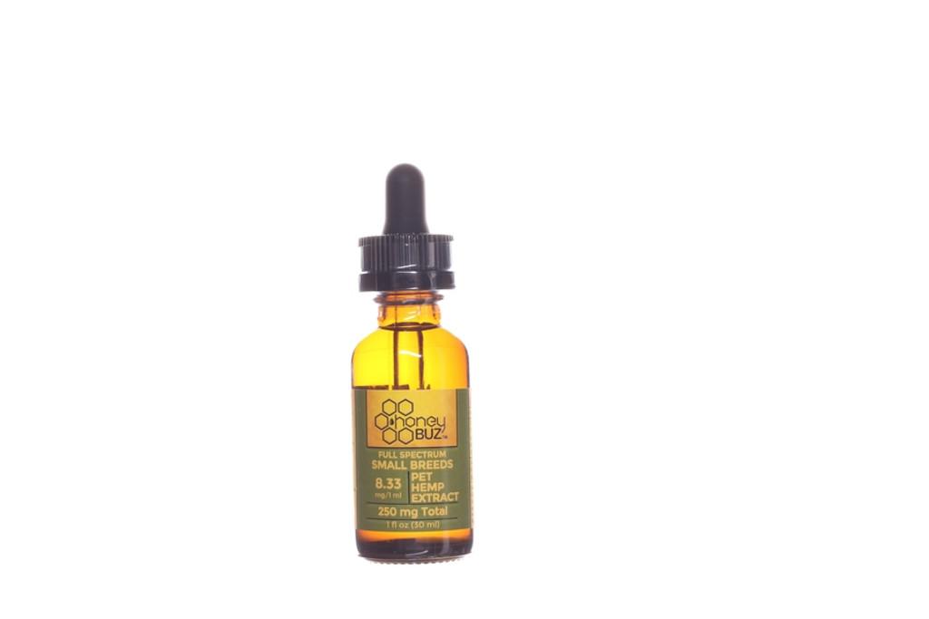 Honey Buz Full Spectrum Pet Hemp Extract 250 mg for small breeds
