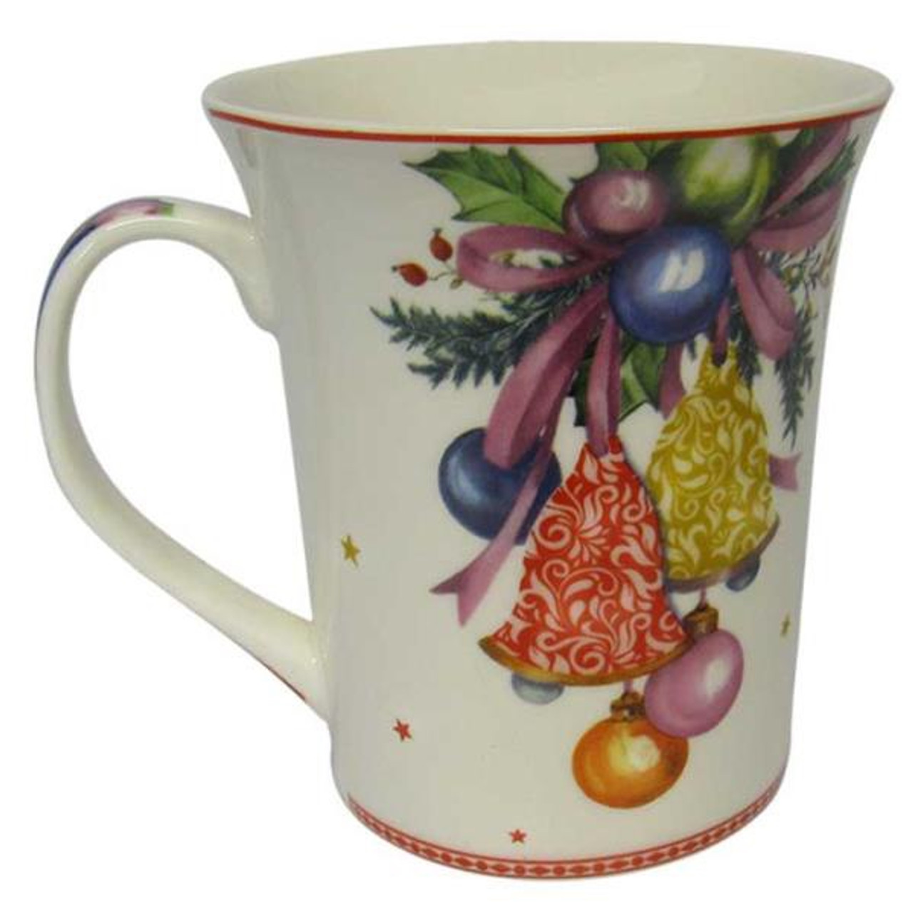 Mug With Christmas Decor Design 4 Different Designs Adore Collection