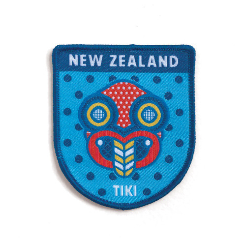 Pop Tiki - Iron on Patch