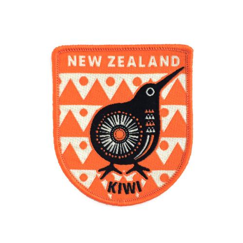 Retro Kiwi - Iron-on Patch