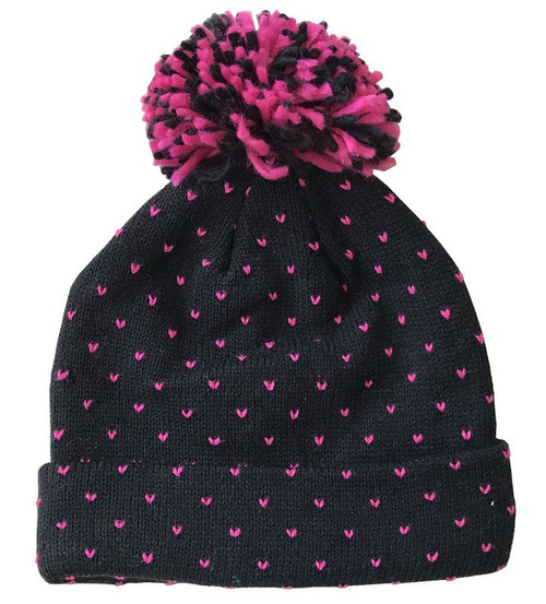Pink dot Beanie 55cm