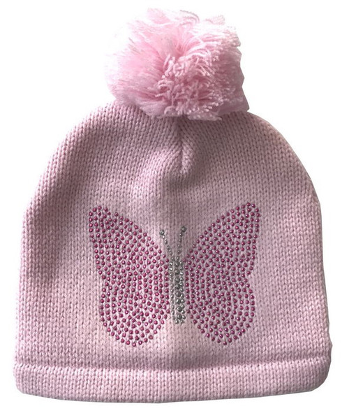 Butterfly Beanie Pink