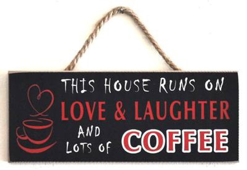 Coffee themed wall plaques