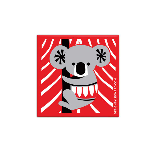 Scandi Koala - magnet