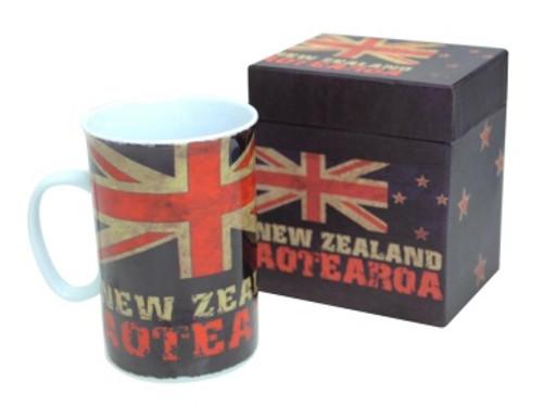 NZ Aged Flag Aotearoa Mug