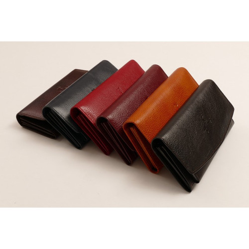 Leather Wallet (comes in 6 different colours)