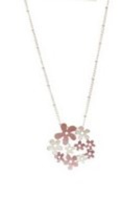Flower pendant (comes in 3 colours)