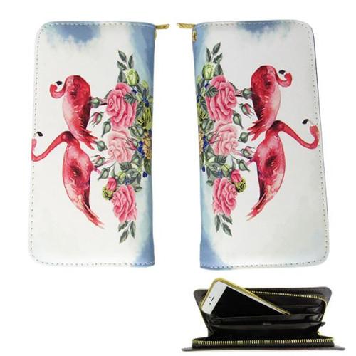 Pink Flamingos - wallet