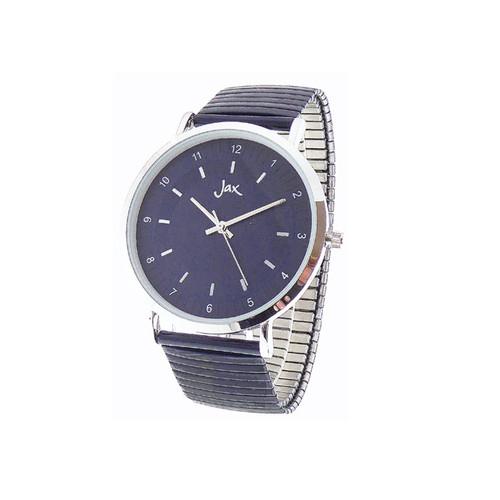 Navy /silver watch
