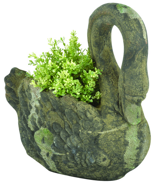 swan planter (plant not supplied)
