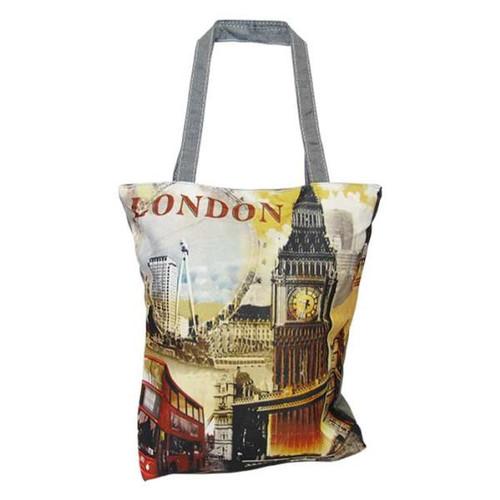 Tote Bag - London, Big Ben, London Eye