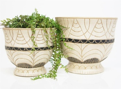 Huda Planter - pot plant holders - 2 sizes