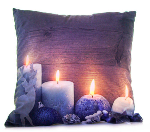 "Christmas themed ""Light Up"" Cushions"
