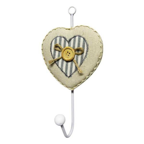 Country Chic Heart button hook