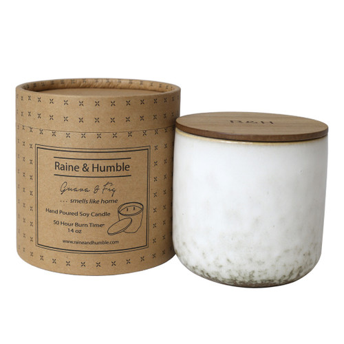Hand Poured Soy Candle in a canister packaged in a tube - 50hr burn time (3 different flavours available)
