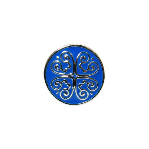Snap - celtic heart Blue
