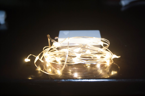 USB Rechargeable seed lights - comes in one of 6 colours