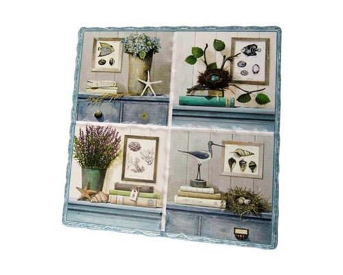 Decorative Trivet Tile - Sealife