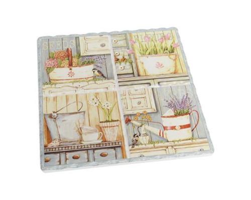 Decorative Trivet Tile - Lavender