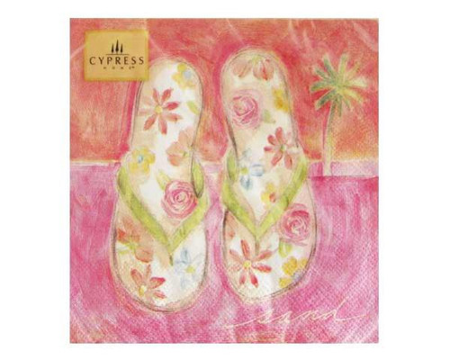 Tropical Flip Flop Napkin