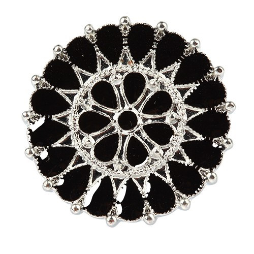 round flower ring - comes in several colours