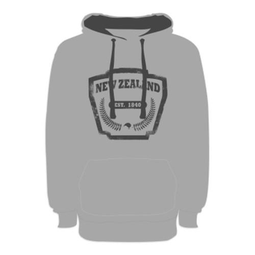Kiwiana Hoodie - NZ Emblem