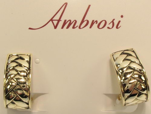clip on earring gold