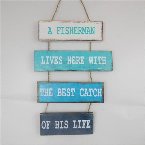 4 plank hanging sign