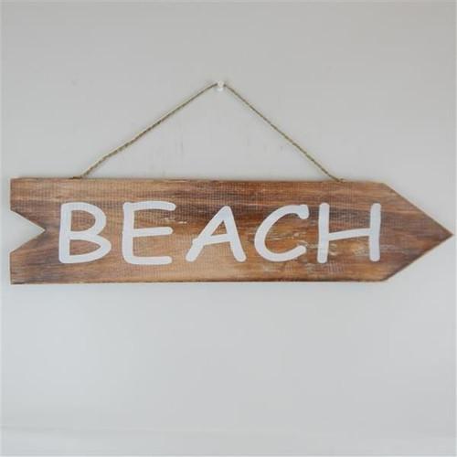 arrow beach sign