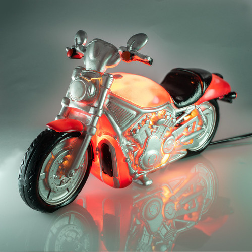 Night Light table lamp - motorcycle