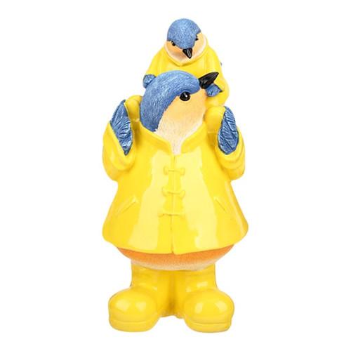 Bluebird Figurine - piggyback ride