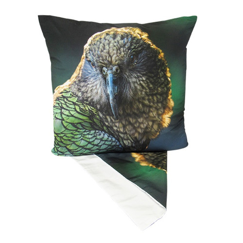 NZ Native Bird - Kea, Cushion Cover