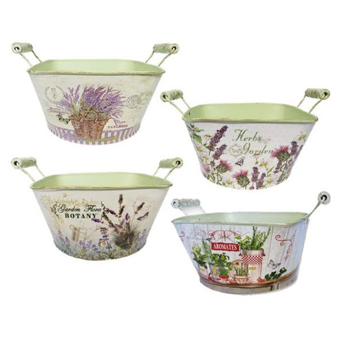 Le Jardin - tin pails (lots to choose from)